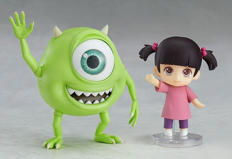 Mike & Boo Nendoroid Figure Set Standard Ver. -- Monsters Inc.