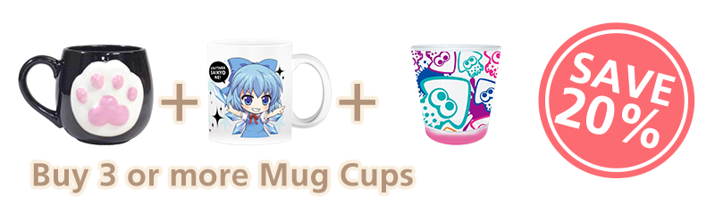 Buy 3 or more Mug Cups and get 20% Off.
